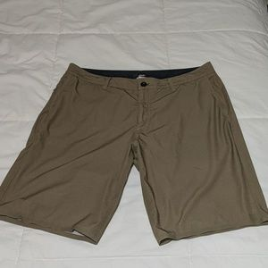 Quicksilver 34 Shorts Hybrid Swim Trunks Green